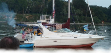 NERYC members cruise to marina destinations or anchor out in quiet bays on the Chesapeake