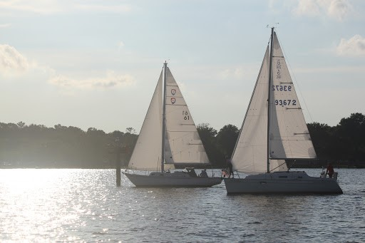 Neryc racers compete on the Upper Chesapeake Bay
